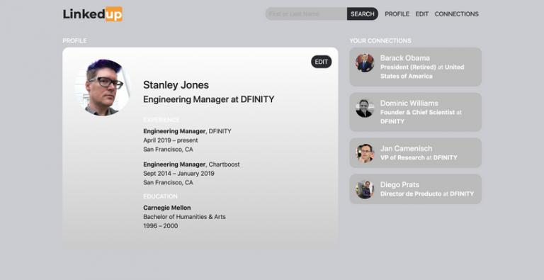LinkedUp Dfinity