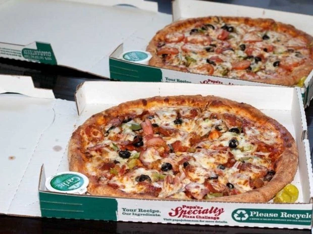 Laszlo Hanyecz's pizza