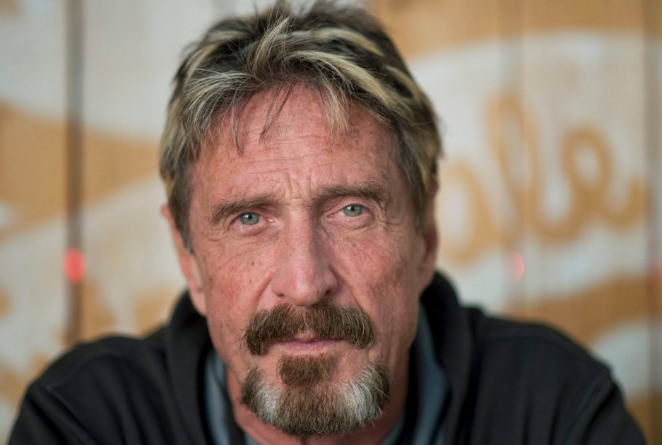 John McAfee cryptocurrency GHOST