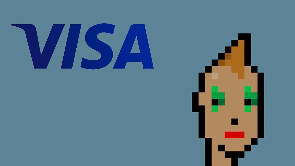 Visa buys a CryptoPunk NFT