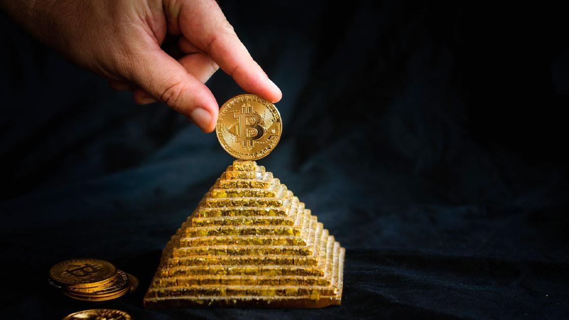 Crypto pyramid