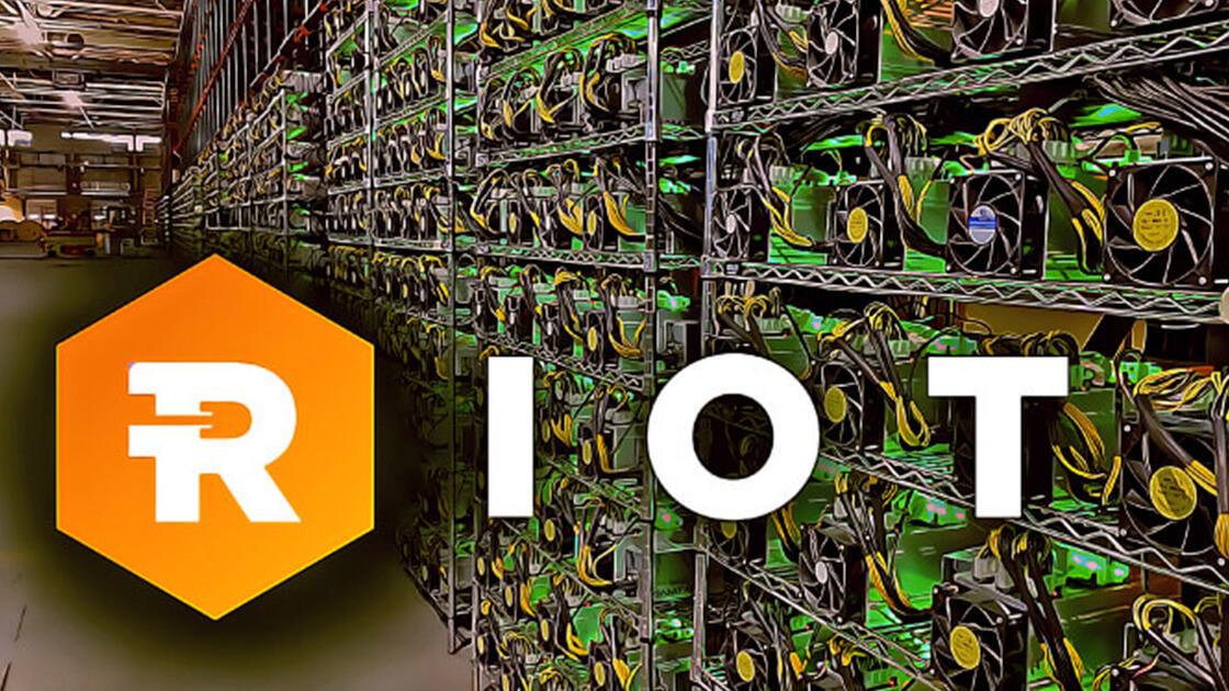 Riot blockchain revenue