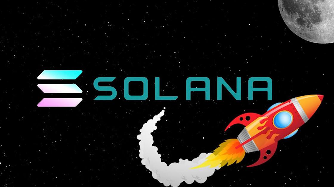 Solana surges above $110