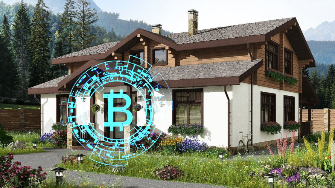 House for 1 bitcoin