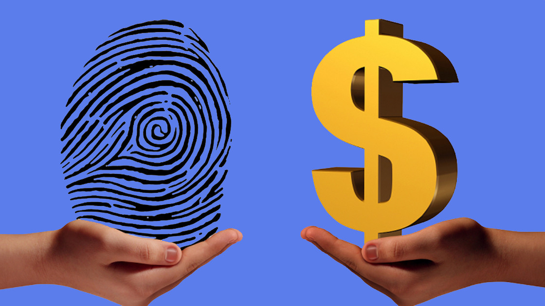Using blockchains for earning money on your personal data