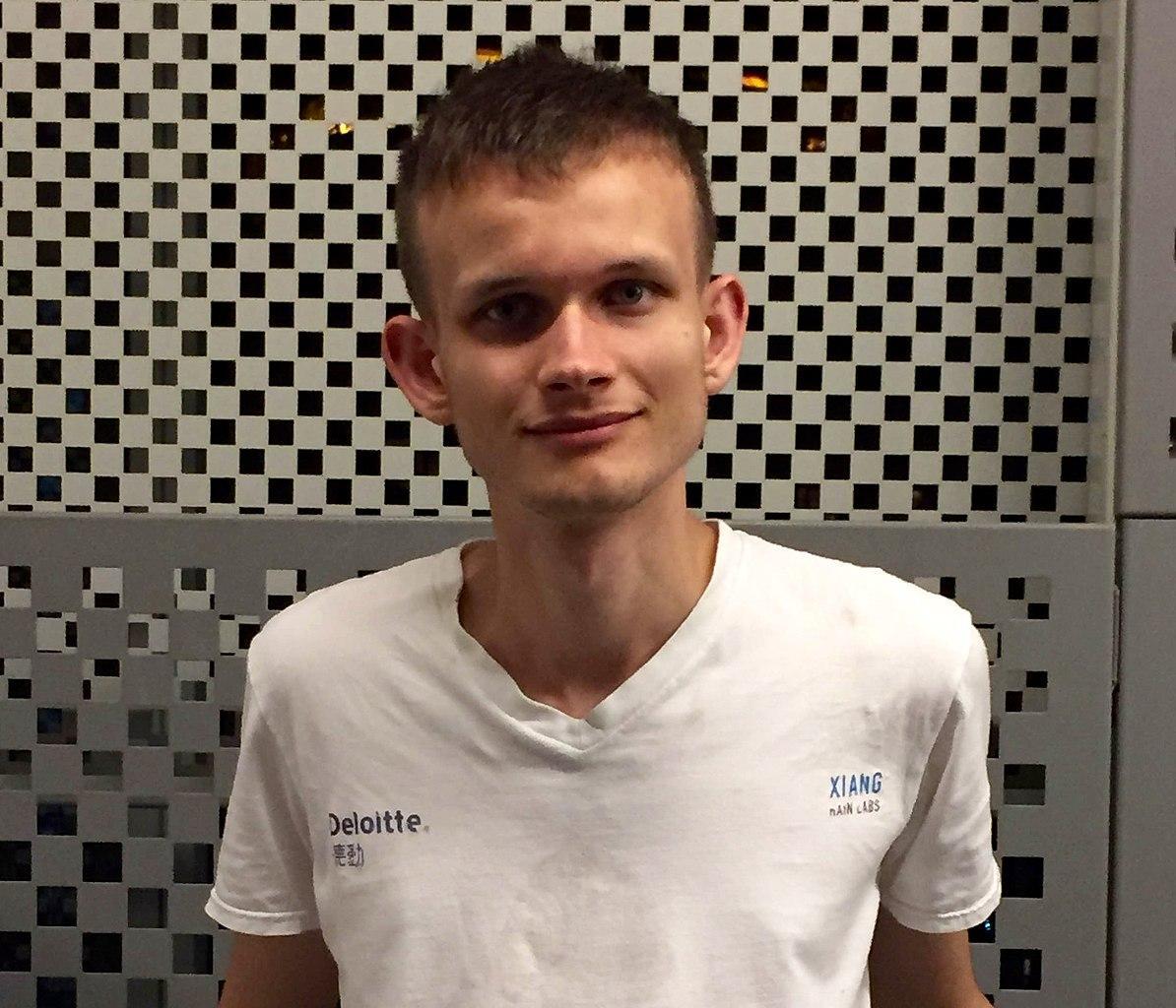 Vitalik Buterin - creator of Ethereum