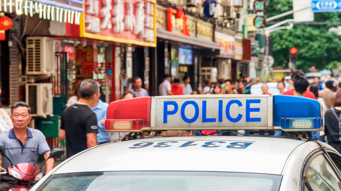 Police raid in Binance's office