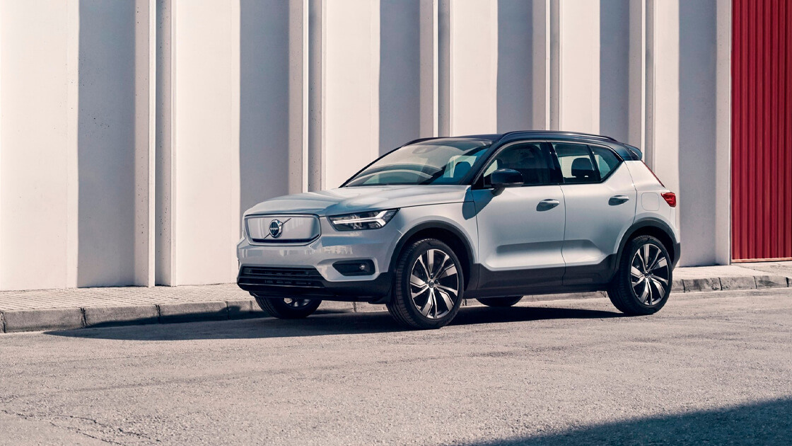 Fully-electric Volvo XC40 Recharge