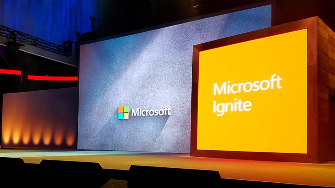 Microsoft Ignite conference