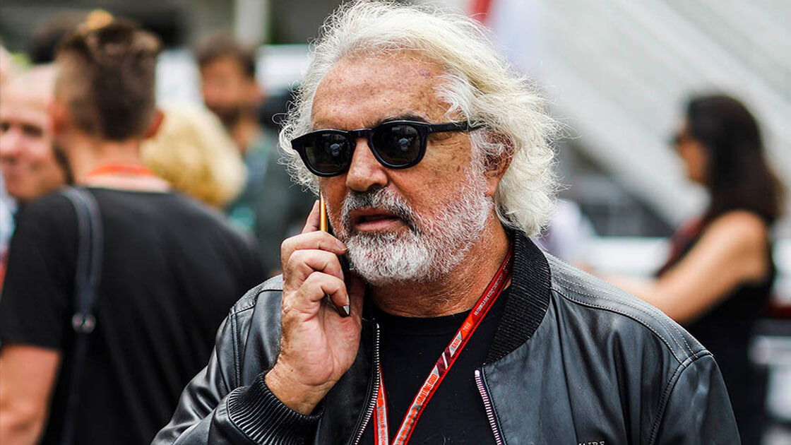 Flavio Briatore and BTC up