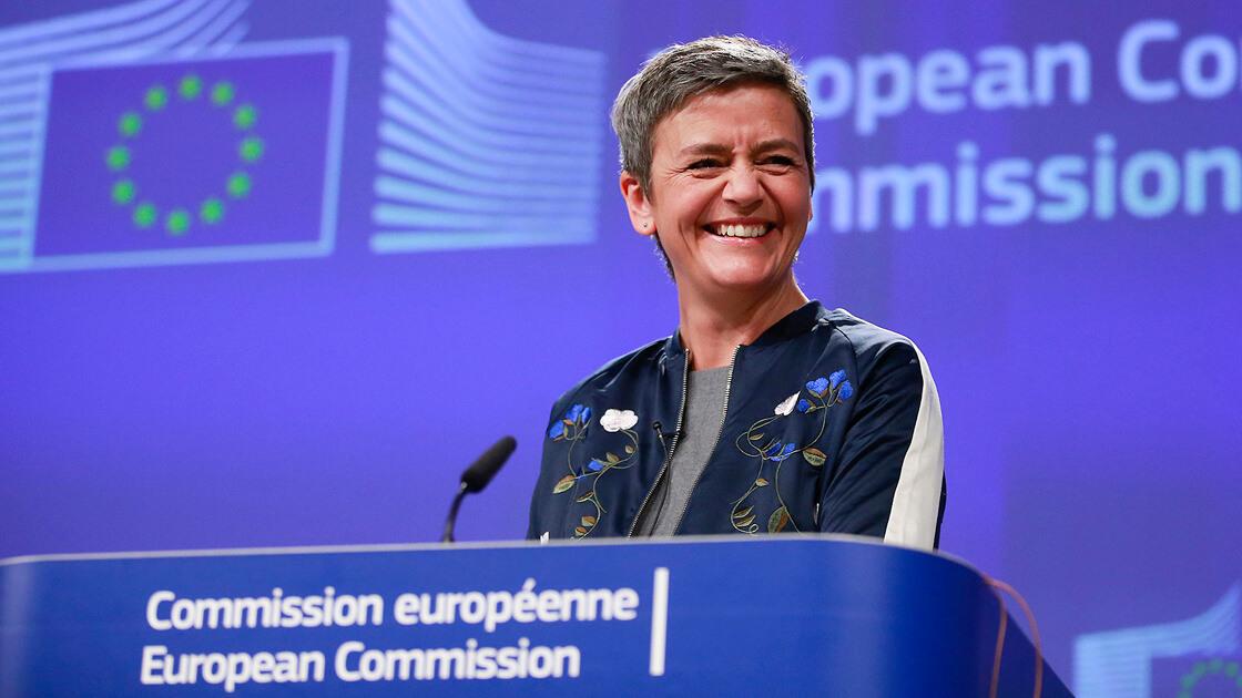 Vestager says Libra rouses EU antitrust interest