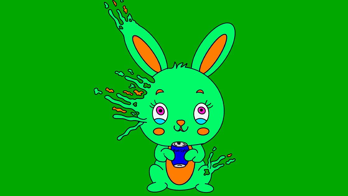 Trippy Bunny